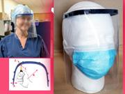 Higiéniai arcvédő pajzs