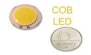 COB LED 3W hideg fehér