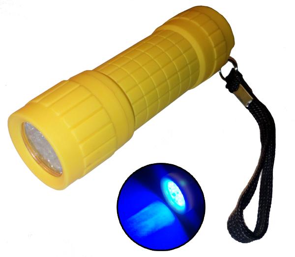 Pénzvizsgáló UV lámpák SÁRGA
